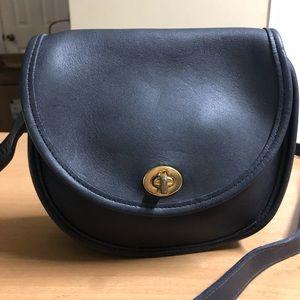 Coach Watson 9981 Crossbody bag Black Leather
